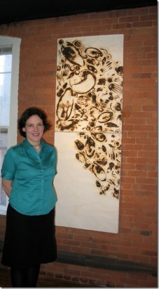 Anne at Starpin Gallery