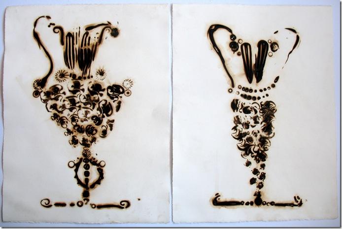 19 Pair of Vases